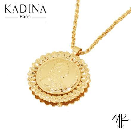 pendentif femme or