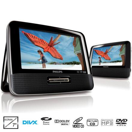 philips lecteur dvd portable