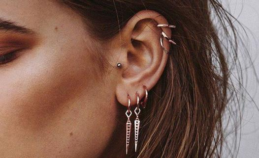 piercing oreille femme tragus