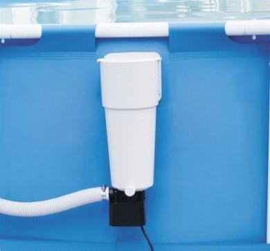 piscine hors sol avec skimmer