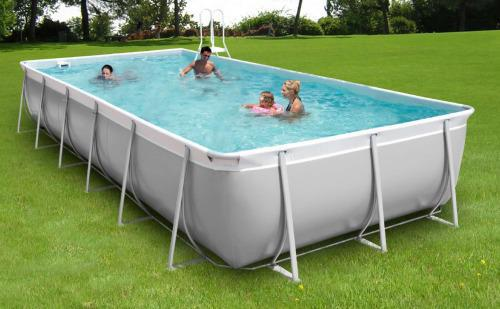 piscine rectangulaire tubulaire hors sol
