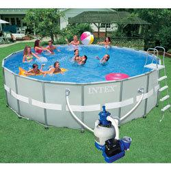 piscine ronde hors sol intex
