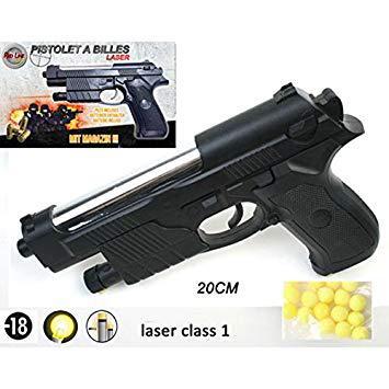 pistolet a bille laser