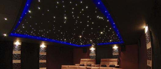 plafond led ciel
