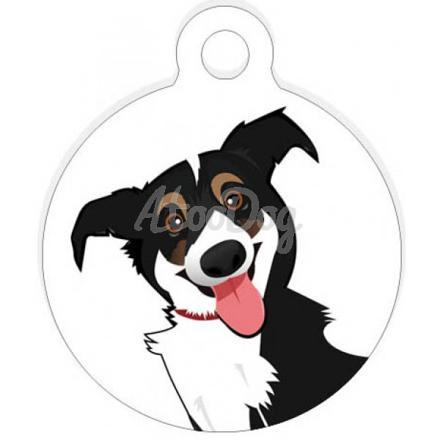 plaque pour chien personnalisé