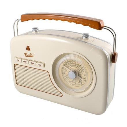 poste radio vintage