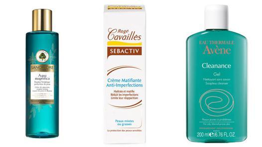 produits pour peau acnéique
