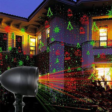 projecteur laser de noel exterieur