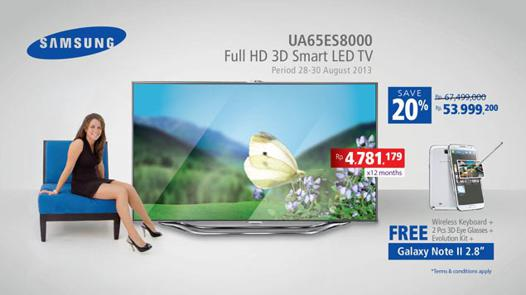 promo smart tv samsung