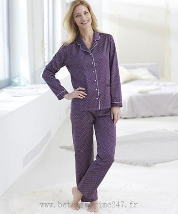 pyjama femme satin pas cher