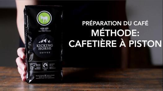 quel café pour une cafetière à piston