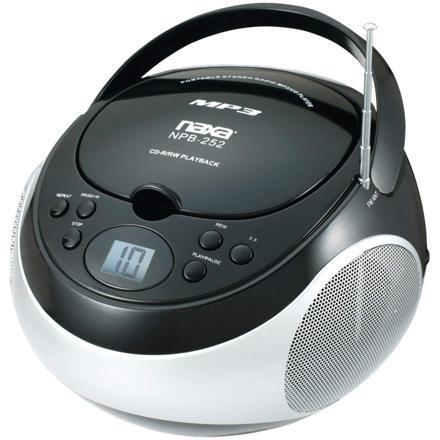 radio cd mp3 portable