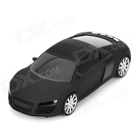 radio en forme de voiture