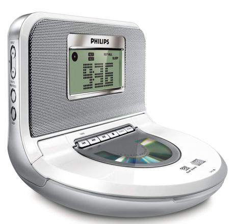 radio reveil cd philips