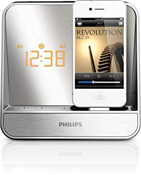 radio reveil philips iphone