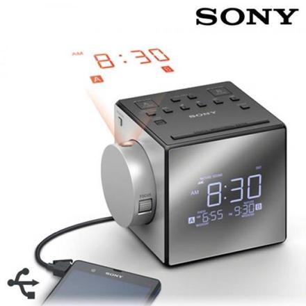 radio reveil projecteur sony