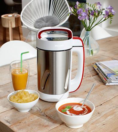recette soupe blender chauffant philips