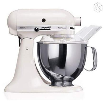 robot kitchenaid artisan blanc