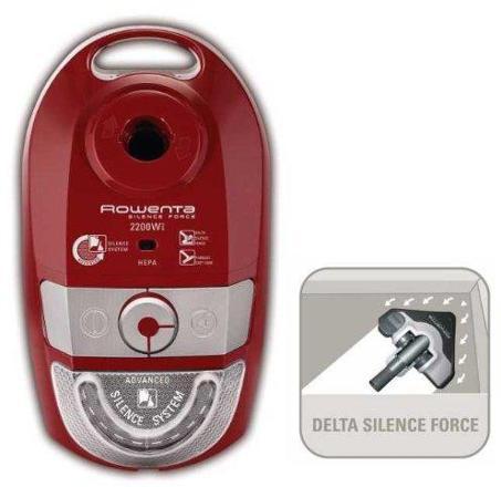 sac aspirateur rowenta silence force 2200
