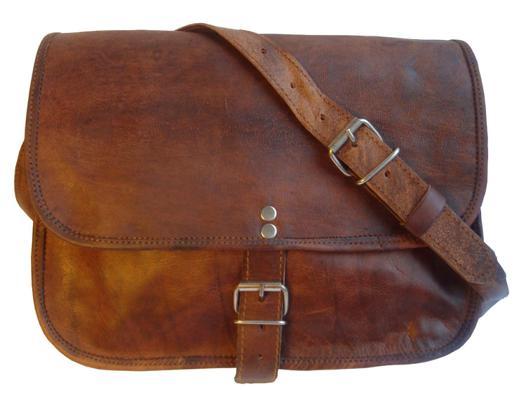 sac bandoulière cuir vintage