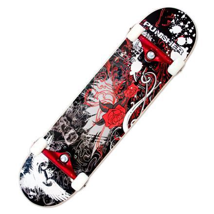 skateboard rose