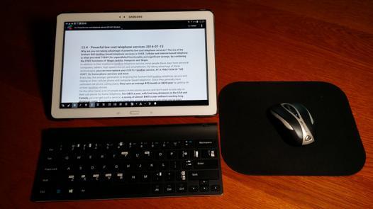 souris pour tablette samsung