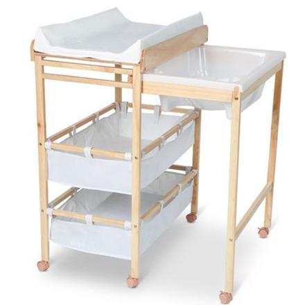 table a langer avec baignoire pas cher