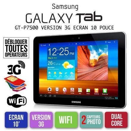 tablette 10 pouces samsung