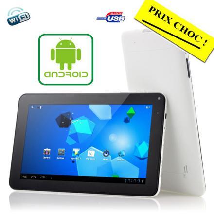 tablette android 9 pouces