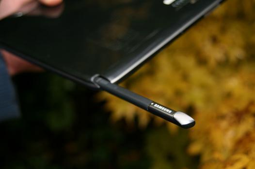 tablette avec stylet intégré