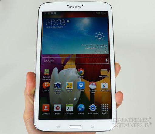 tablette galaxy tab 3 8 pouces