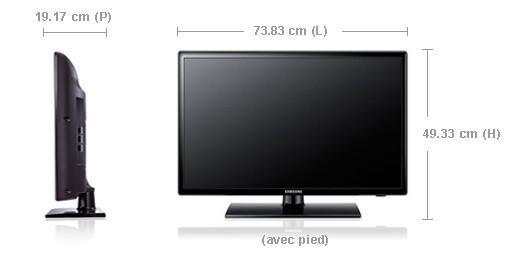taille tv 32 pouces