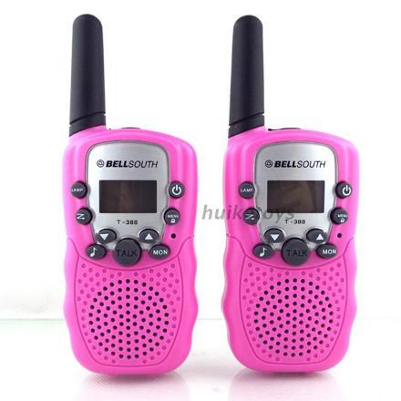 talkie walkie fille