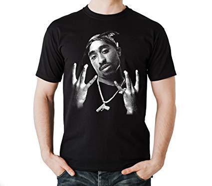 tee shirt 2pac