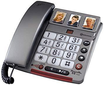 telephone fixe grosses touches avec repondeur