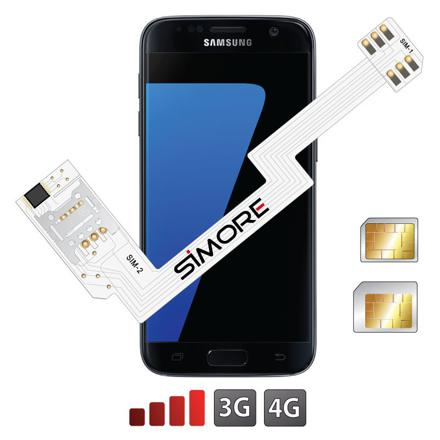 telephone samsung double sim 4g