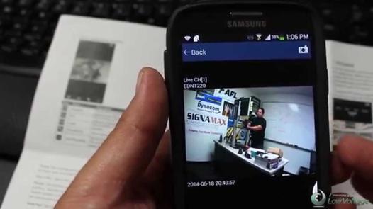 test camera wifi