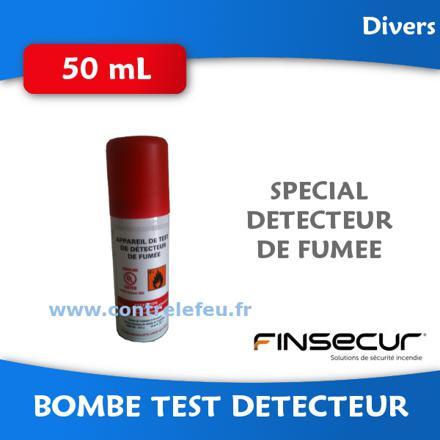 test détecteur de fumée