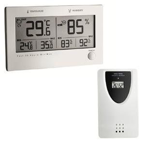 thermometre hygrometre interieur exterieur sans fil