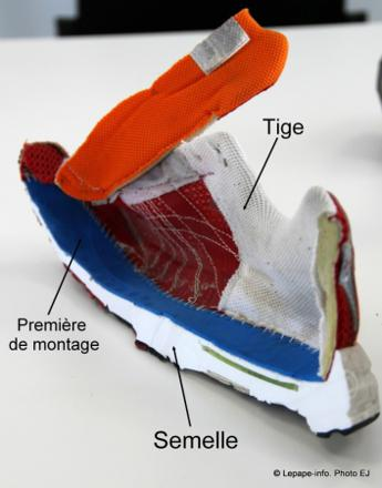 tige chaussures