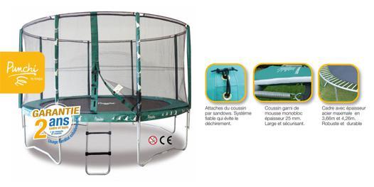 trampoline punchi 360