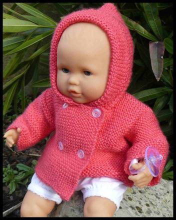tricot poupon corolle