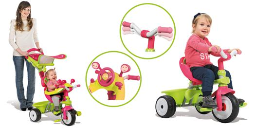 tricycle baby driver confort fille