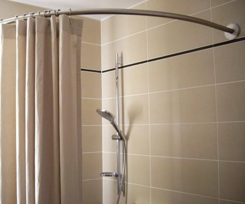 tringle a rideau douche sans percer