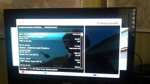 tuner satellite tv samsung