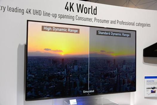 tv 4k hdr 55 pouces