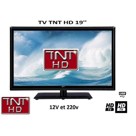 tv led 12 volts 19 pouces