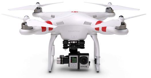 un drone avec caméra