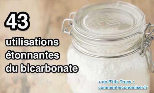 utilisation du bicarbonate de soude