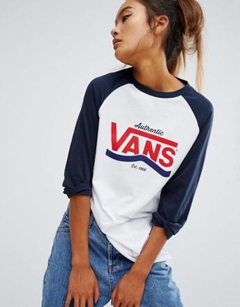 vans tee shirt femme